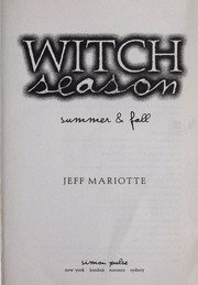 Cover of: Summer | Jeff Mariotte