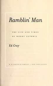 Cover of: Ramblin