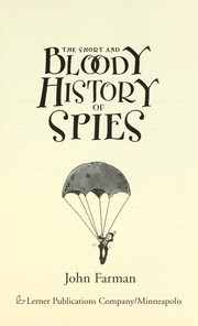 Cover of: The short and bloody history of spies