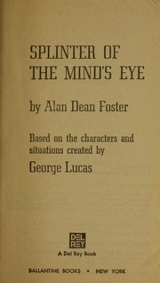 Cover of: Splinter of the mind's eye: from the adventures of Luke Skywalker