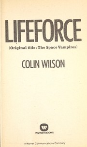 Cover of: Lifeforce | Colin Wilson