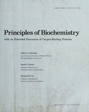Cover of: Principles of biochemistry