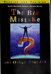 Cover of: The big mistake and other stories | Nella Burnett-Stuart