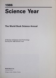 Cover of: Science year, 1986 : the World Book science annual by