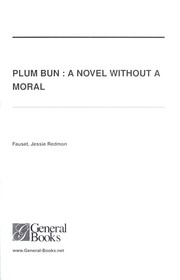 Cover of: Plum bun