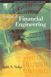 Cover of: Principles of financial engineering
