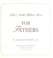 Cover of: For fathers