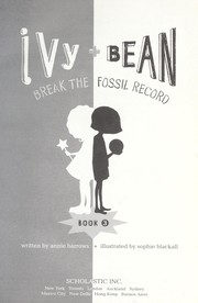 Cover of: Ivy + Bean break the fossil record