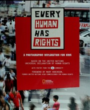 Cover of: Every human has rights