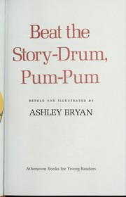 Cover of: Beat the Story-drum, Pum-pum