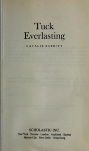 Cover of: Tuck Everlasting |