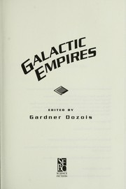 Cover of: Galactic empires