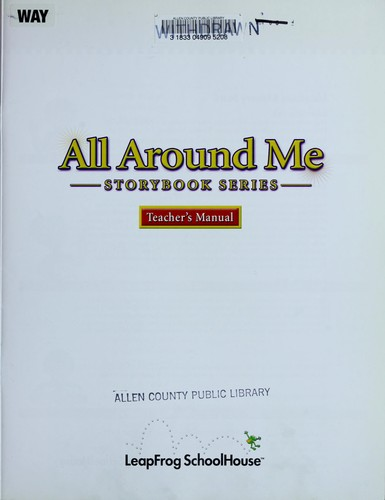 All around me by LeapFrog (Firm)