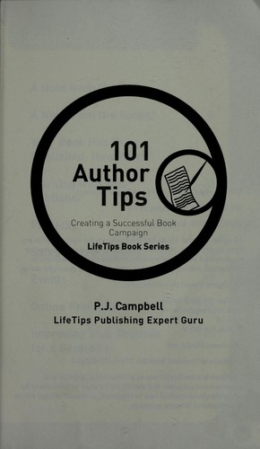 101 author tips by P. J. Campbell
