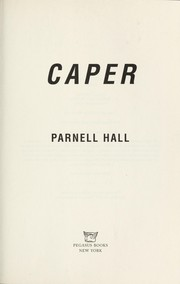 Cover of: Caper | Parnell Hall