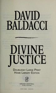 Cover of: Divine justice