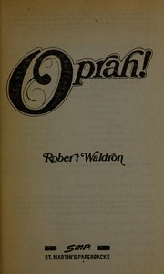 Oprah! by Robert Waldron