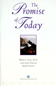 Cover of: The promise of today | Wallis C. Metts