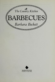 Cover of: Barbecues
