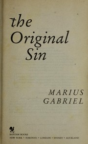 Cover of: The original sin