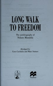 Cover of: Long walk to freedom