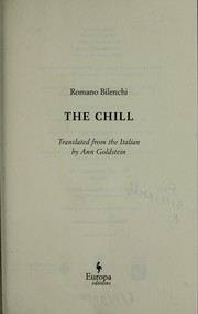Cover of: The chill