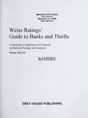 Cover of: Weiss ratings' guide to banks and thrifts | Inc Weiss Ratings