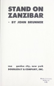 Cover of: Stand on Zanzibar. | John Brunner