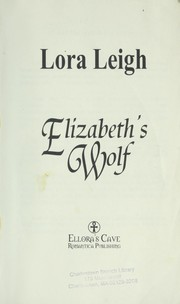 Cover of: Elizabeth's wolf