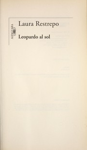 Cover of: Leopardo al sol