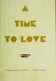 Cover of: A time to love : stories from the Old Testament |