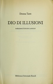 Cover of: Dio di illusioni