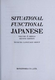 Cover of: Situational functional Japanese
