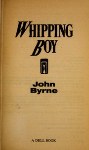Cover of: The Whipping Boy | John Byrne