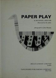 Cover of: Paper play. | Michael Grater