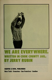 Cover of: We are everywhere. | Jerry Rubin