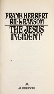 Cover of: The Jesus Incident | Frank Herbert