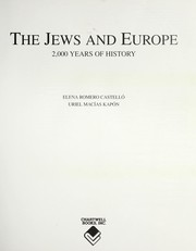 Cover of: The Jews and Europe