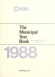 Cover of: The Municipal year book 1988 |