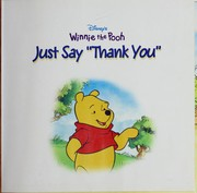 "Cover of: Just say ""thank you"""