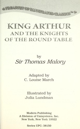 King Arthur and the Knights of the Round Table by C. Louise March