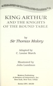 Cover of: King Arthur and the Knights of the Round Table | C. Louise March