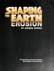 Cover of: Shaping the Earth
