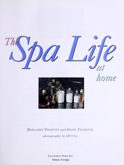 Cover of: The spa life at home
