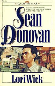 Cover of: Sean Donovan