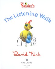 Cover of: The listening walk