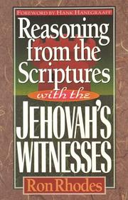Cover of: Reasoning from the Scriptures with the Jehovah