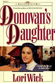 Cover of: Donovan's daughter