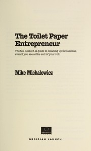 Cover of: The toilet paper entrepreneur