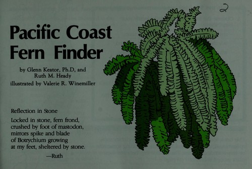 Pacific Coast fern finder by